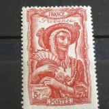 FRANTA 1943 – COSTUM POPULAR PROVENCE, timbru nestampilat, K119