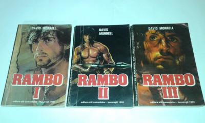 DAVID MORRELL - RAMBO           Vol.1.2.3. foto