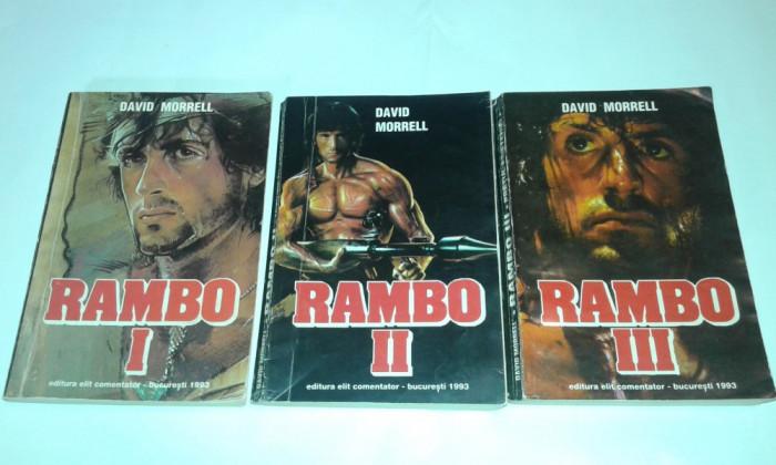 DAVID MORRELL - RAMBO           Vol.1.2.3.