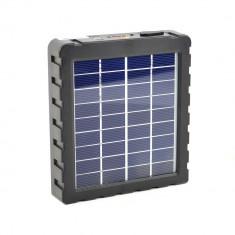Aproape nou: Incarcator solar PNI GreenHouse P10 3000mAh pentru camere de vanatoare