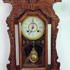 Ceas de semineu-perete New Haven USA 1890