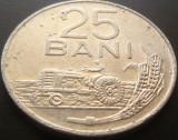 Moneda 25 Bani - ROMANIA, anul 1982 *cod 5020, Aluminiu