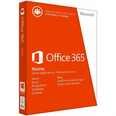 Aplicatie Microsoft Licenta Electronica Office 365 Home Premium, 1 an, 5 PC, All Languages, FPP - Solutii business
