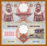 !!!  JAVA , INDONEZIA  = FANTASY NOTE =  10  RUPII   2017  - UNC