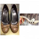 Pantofi+saboti piele naturala, 36