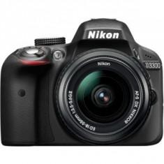Aparat foto D-SLR Nikon D3300 Black + Obiectiv AF-P DX Nikkor 18-55mm