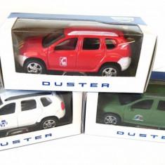 Set 3 machete Dacia Duster Militara + Ambulanta Medic + Pompieri 3 inch NOREV - Macheta auto