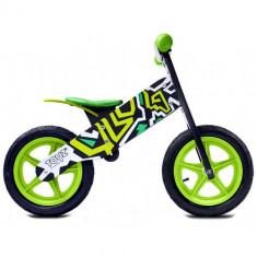 Bicicleta Fara Pedale Zap, 12 inch Green - Bicicleta copii