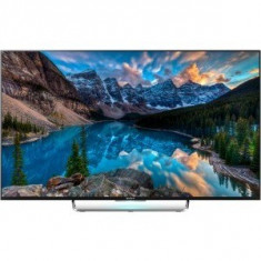 Televizor LED Sony Smart TV Android 43W808C Seria W808C 108cm negru Full HD 3D
