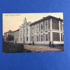 Vaslui - Casarma Infanteriei - Carte Postala Muntenia 1904-1918, Circulata, Fotografie