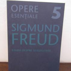 Sigmund Freud - STUDII DESPRE SEXUALITATE (VOL 5) - Carte Psihologie