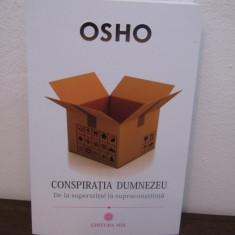 Conspiratia Dumnezeu: De la Superstitie la SupraConstiinta-OSHO - Carte dezvoltare personala