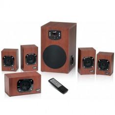 Boxe Genius SW-HF5.1 4600, Putere 125W RMS, Telecomanda Trasport Gratuit Braila si Galati - Boxe PC