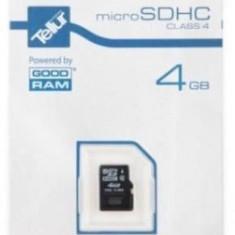 Card de memorie GOODRAM SMC00785, microSD, 4GB, Clasa 4 - Card memorie