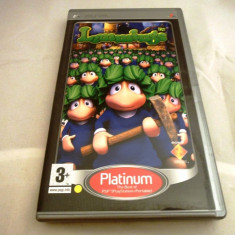 Lemmings, PSP, original, alte sute de jocuri!, Actiune, 3+, Single player, Sony
