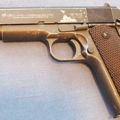 ULTRA PUTERNIC!! Pistol Airsoft Colt 1911 COMBAT Cu Aer Comprimat Co2 - Arma Airsoft Cyber Gun