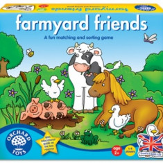 Joc Educativ Prietenii De La Ferma - Jocuri Logica si inteligenta orchard toys
