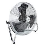 Ventilator de podea 120W 50cm HOME cu 3 trepte de viteza si palete metalice