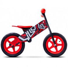 Bicicleta Fara Pedale Zap, 12 inch Red - Bicicleta copii