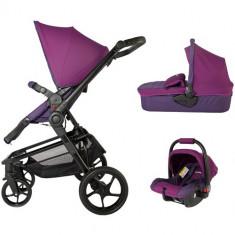 Sistem Modular 3in1 Girasole Violet - Carucior copii 2 in 1 Coccolle