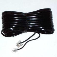 CABLU TELEFON EXTENSIE NEGRU 10M - Cablu retea