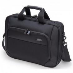 Dicota Geanta notebook 14.1 inch Top Traveller ECO Black - Geanta laptop Dicota, Nailon, Negru