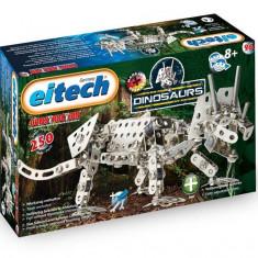 Set Constructie Metalica - Dinozauri - Triceratops - Set de constructie