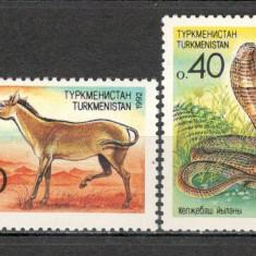 Turkmenistan. 1992 Fauna  KZ.190