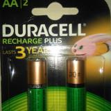 Set 2 bucati acumulatori R3 AAA Duracell ultra de 750 mah noi. - Baterie Aparat foto