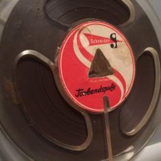 Banda Magnetofon -SCHNEIDER - diametru rola 10 cm -stare F. Buna/destul de Rara