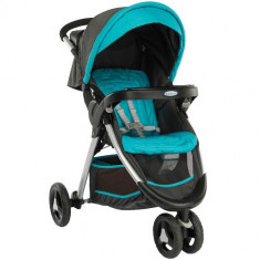 Carucior FastAction Fold Ocean Grey - Carucior copii 2 in 1 Graco