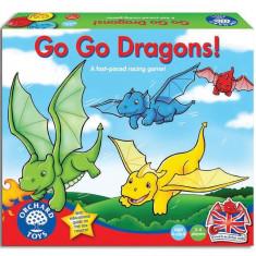 Joc Educativ - Duceti-Va Dragonilor - Orchard Toys (056) - Jocuri Logica si inteligenta