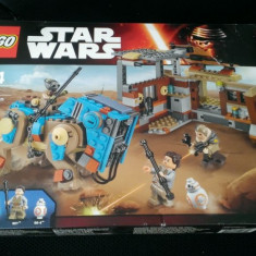Lego Star Wars 75148 - Confruntare pe Jakku - nou, sigilat in cutie, 6-10 ani
