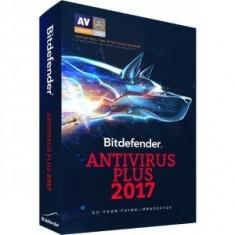 Securitate Bitdefender Antivirus Plus 2017, 1 PC, 1 an, New License, Retail