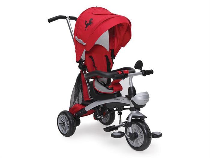 Tricicleta Copii Moni Mustang Rosu foto mare
