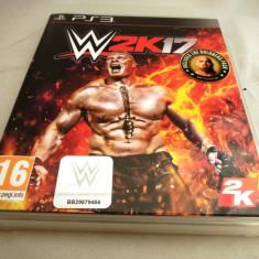 Joc WWE 2k17, PS3, original, alte sute de jocuri! - Jocuri PS3 Thq, Sporturi, 12+, Multiplayer