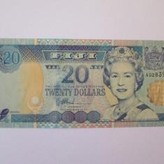 Fiji 20 Dollars 2002 UNC - bancnota america