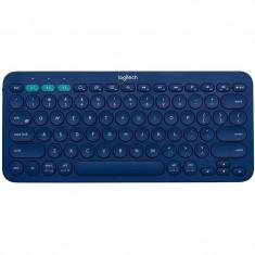 Tastatura Logitech K380 Bluetooth Blue, Fara fir