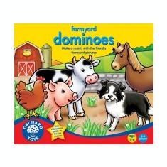 Joc Educativ Domino - La Frema - Orchard Toys (077) - Jocuri Logica si inteligenta