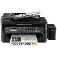 Multifunctionala Inkjet Epson CISS Color L565, Format A4, 33ppm mono, 5760 x 1440 dpi, USB 2.0, Retea, Wireless