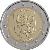 RAR - Letonia moneda comemorativa 2 euro 2016 - VIDZEME - UNC, Europa