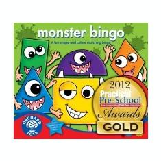 Joc Educativ Bingo - Monstruletii Simpatici - Orchard Toys (084) - Jocuri Logica si inteligenta