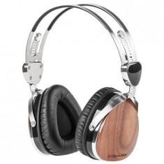 CASTI AUDIO KRUGER&MATZ (NUC NEGRU), Casti Over Ear, Cu fir, Mufa 3, 5mm