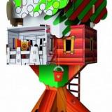 Casuta Din Copac Ki Ka - Calafant - Jocuri arta si creatie