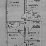 Inel 2, apartament 3 camere, 59mp, etaj 3, constanta, vanzari - Apartament de vanzare, Numar camere: 3, An constructie: 1980, Etajul 3