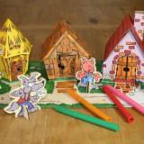 Cei 3 Purcelusi - Calafant - Jocuri arta si creatie