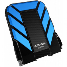 Hard Disk Extern A-DATA DashDrive Durable HD710, 2.5, 1TB, USB 3.0, (Albastru) - HDD extern