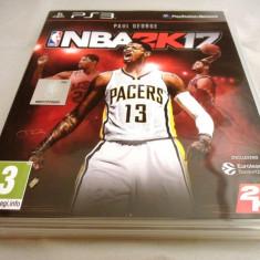 Joc NBA 2k17, PS3, original, alte sute de jocuri! - Jocuri PS3 Thq, Sporturi, 12+, Multiplayer