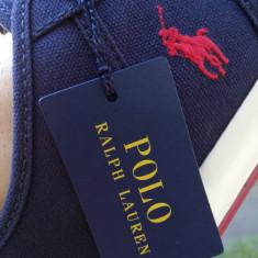 Teneşi Polo Ralph Lauren Tyrian, Newport navy, mărimea 44 ½! LIVRARE GRATUITA - Tenisi barbati Ralph Lauren, Marime: 44.5, Culoare: Bleumarin