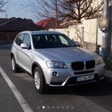 BMW X3 an 2012, 173.000 KM, Gri, cutie automata, Motorina/Diesel, 175000 km, 2000 cmc, Seria X